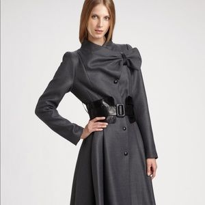 MACKAGE Belted Bow Coat -MEDIUM-